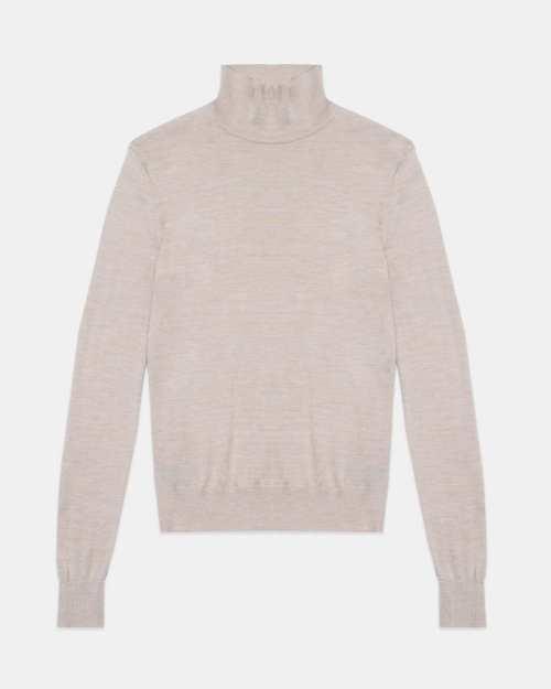 Turtleneck Sweater in Regal Wool