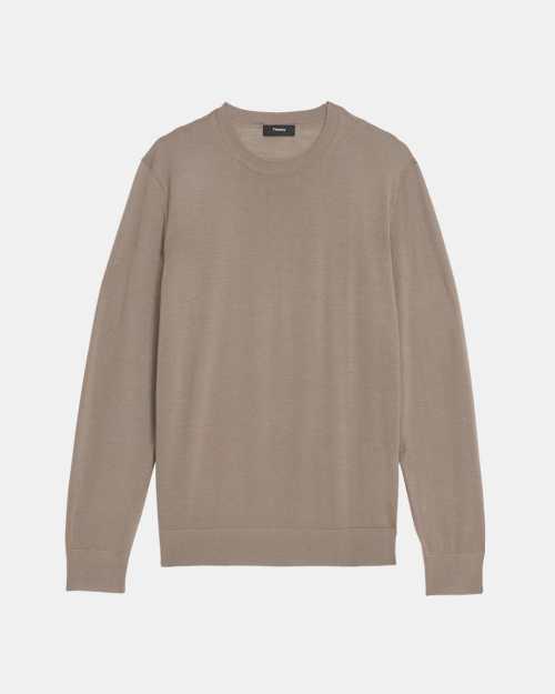 Crewneck Sweater in Regal Wool