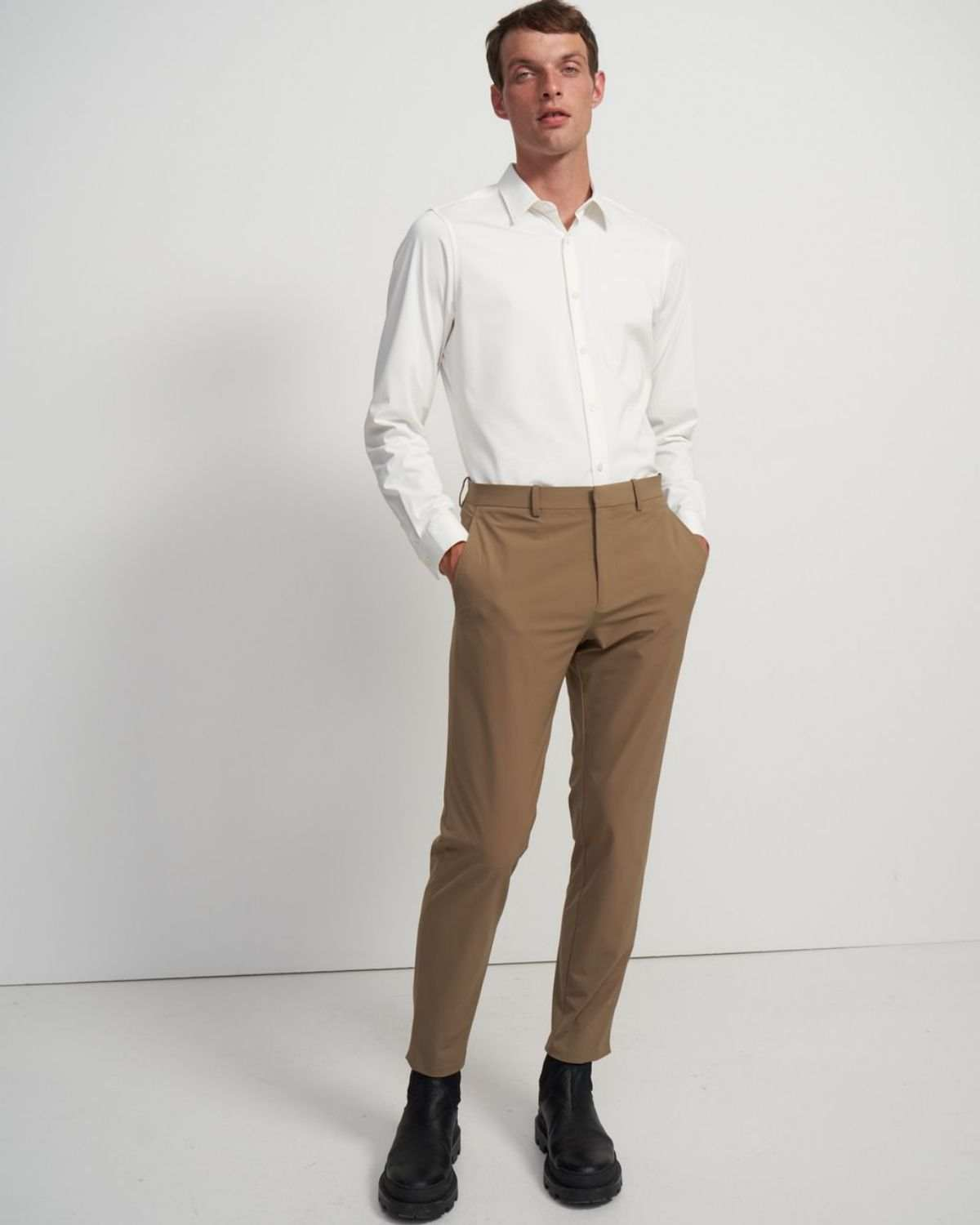 Sylvain Shirt in Structured Knit