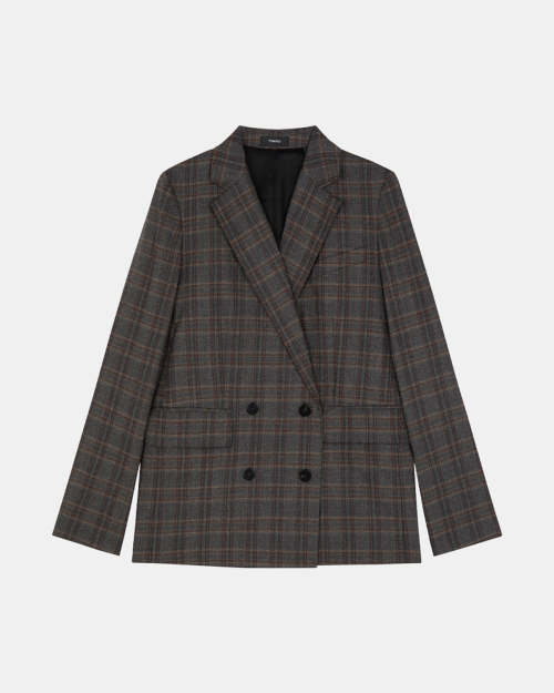 Piazza Jacket in Griffin Plaid