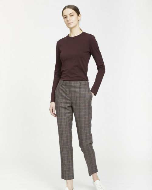 Treeca Pant in Griffin Plaid
