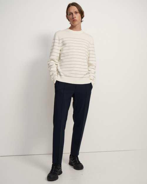 Striped Sweater in Merino Wool