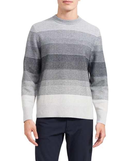 Burton Crewneck Sweater in Wool-Cashmere